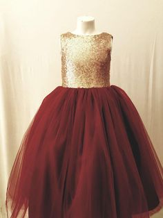 Sequin gold burgandy flower girl dress tulle skirt formal rose sequin dress sizes to 12 plum maroon cranberry can be customized Burgandy Flower Girl Dress, Fall Flower Girl, Burgundy Flowers, Baby Flower, Sequin Flower Girl Dress, Flower Girls, Burgandy And Gold Wedding, Maroon Wedding, Fall Wedding