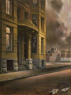 My favorite painting - Het Gele Huis - Carel Willink