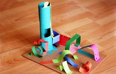 Cool idea for making 3D sculptures with kids by @Amy Anderson!