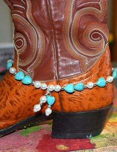Jewelry Boot Jewelry Boot Bling Boot Wrap Boot by CowgirlUpLadies, $14.00