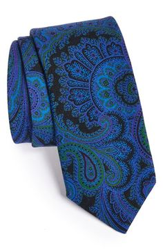 Free shipping and returns on Ted Baker London Woven Wool Tie at Nordstrom.com. Vibrant paisley swirls across a handsome tie woven from soft, pure wool.