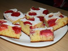 Tasty Dishes, French Toast, Cheesecake, Food And Drink, Sweets, Breakfast, Desserts, Hip Bones, Morning Coffee