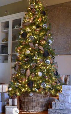 14 Creative Christmas Trees - Blogger Christmas Tree Ideas - Country Living