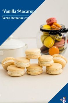 These classic French macarons are crisp almond shells filled with jam and Swiss meringue buttercream. They make perfect tea time treats as well as impressive gifts to family and friends during the holiday season. Using my no-fail recipe this is one you are going to love #macaron #French #recipe #nofail #best #frenchmacarons #failproofmacarons #howtomacarons #stepbystepmacarons