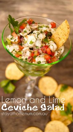 Lemon and Lime Ceviche Salad