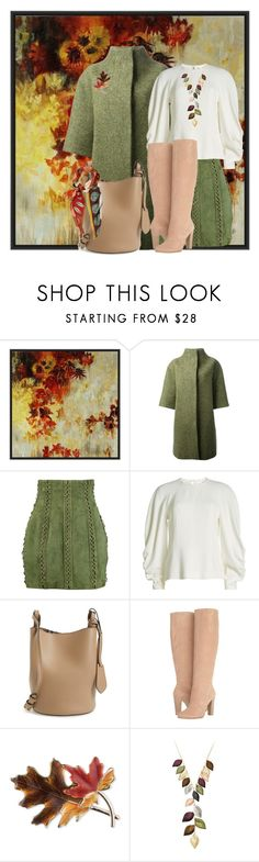 """""""Lady Autumn"""" by hanne-xiii ❤ liked on Polyvore featuring PTM Images, Stella Jean, Balmain, Victoria Beckham, Burberry, Dolce Vita, Anne Klein, Jacmel and Valentino"""