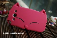 Coque silicone chat FUSHCIA pour Samsung Galaxy Note S4: Amazon.fr: High-tech