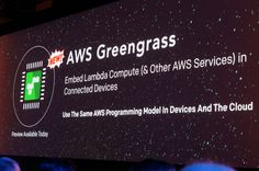 AWS Greengrass brings Lambda to IoT devices Amazon today announced the launch of Greengrass a new service that will be built into IoT devices to bring them better and smarter compute capabilities.  As AWS CEO Andy Jassy noted in todays keynote at Amazons re:Invent developer conference Amazon expects that the majority of on-premises hardware will soon be IoT devices as enterprises move their servers into the cloud. Typically though these IoT devices have always been relatively low-powered…