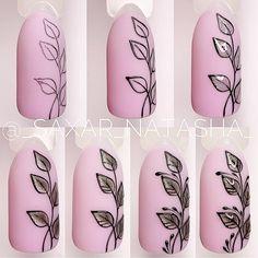 """МАНИКЮР: уроки и МК on Instagram: """"@_saxar_natasha_ ⠀ ⠀ ×××××××××××× #мастеркласс #дизайнногтей #мкросписьногтей #ногтипошагово #мкманикюр #nailtutorial #мкдизайнногтей…"""" Fancy Nail Art, Fancy Nails, Cool Nail Art, Pretty Nails, Fall Nail Art Designs, Gelish Nails, Nail Polish Art, Flower Nail Art, Nail Art Hacks"""