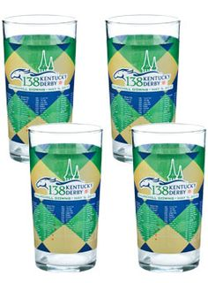 12oz Kentucky Derby 138 Julep Glasses - 12 Pack