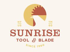 Sunrise Tool & Blade by Adam Anderson