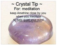 Ametrine for Meditation