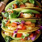 Manic Monday Meals: Easy Prawn Tacos with Lime Creme and the Best Taco Seasoning