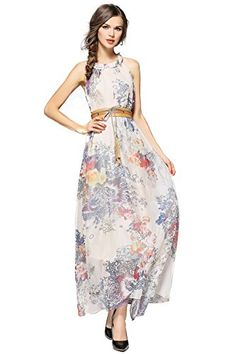 Joy EnvyLand Plus Size Floral Evening Gown Prom Cocktail Party Summer Maxi DressBeigeMedium >>> Learn more by visiting the image link.