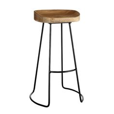 Wisteria Smart and Sleek Stool-This sleek stool would work well in a variety of kitchens.  And its simple construction and reasonable price ($149) make it even more attractive.