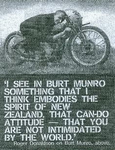 burt munro quotes - Google Search
