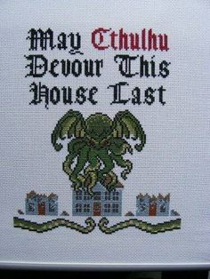 This makes me wanna learn to cross stitch, lol.