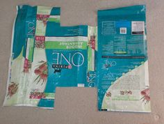 UpcycleArmy: Large Tote from a Pet Food bag