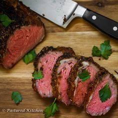 Super simple method for cooking a large Grilled Sirloin Cap Roast