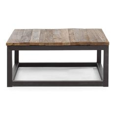 Civic Center Square Coffee Table | MOSS MANOR: A Design House
