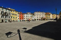 Historic centre of Sarzana. Sarzana is a town in the province of La Spezia, of Liguria, Italy. Just 15 km from Spezia, on the highway to Pisa and Florence in Tuscany.
