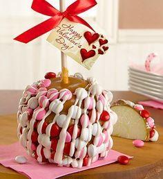 Valentines Caramel Apple