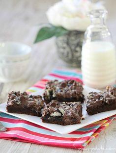 Gooey Cookies and Cream Bars 1