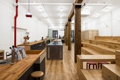Counter Culture Coffee Training Center. Jane Kim Design.
