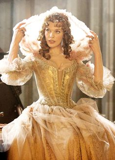 Milla Jovovich in 'The Three Musketeers' (2011).
