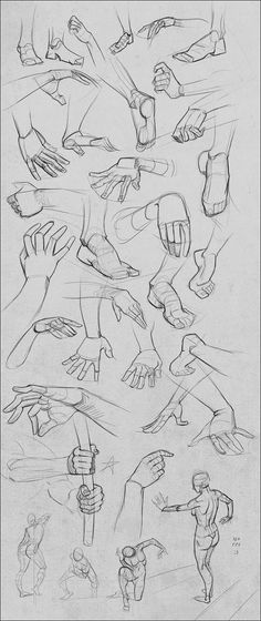 Project Pages 2-2-13 by Andantonius on deviantART via PinCG.com | #drawing #tutorial #training #creative #paper #hand #pen #design #illustration #fingers #basics #hands < repinned by an #advertising agency from #Hamburg / #Germany - www.BlickeDeeler.de