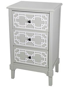Privilege Three Door Accent Table
