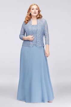 56f8e0e3852 67 Best Light Blue Mother of the Bride Dresses images in 2019