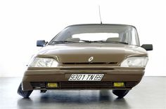 """A lot of art works by Erwin Wurm look like everyday cars, but a little bit strange... This is """"Renault 25-1991"""", 2008"""