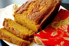 The Best Pumpkin Bread…Ever  2 loaves in gma Helens old pans. Baked an hour...perfect!