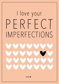 Elske: perfect imperfections