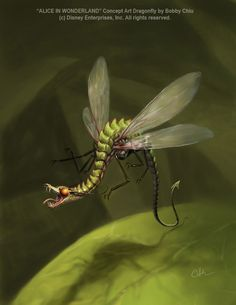 Dragonfly   by *imaginism... it's what we all think of when we hear the word.