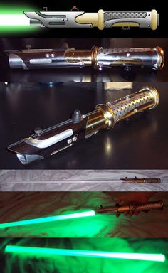 New LED Lightsaber by AnimeFlux.deviantart.com on @deviantART - very sweet design, love the color choice