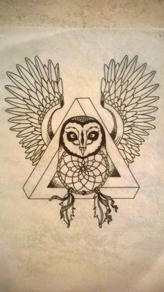 #illogic #triangle #owl #indian