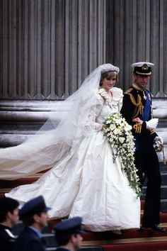 She accidentally called Charles the wrong name during the ceremony.