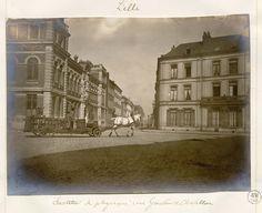 Lille : Institut de physique, rue Gauthier de Châtillon, fin XIX siècle (© Bibliothèque municipale de Lille, http://numerique.bibliotheque.bm-lille.fr/sdx/num/)