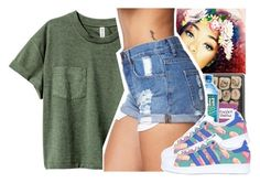 """Untitled #117"" by xxsaraxtaraxx ❤ liked on Polyvore featuring Forever 21 and adidas Originals"