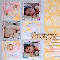 Somia en Colors: LO: I ♥ You sweetie + acuarelas