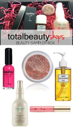 Total Beauty Collection Beauty Sampler Box Review! #beauty #beautytips #makeup