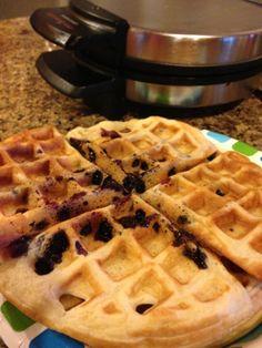 "Weight Watchers ""homemade"" waffles = 5 WW points plus"