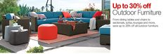 Outdoor Sectional Sofas for Patio Relaxation | Crate and Barrel Ventura Modular Outdoor Set