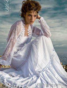 Свадебная мода 2012: Charo Ruiz Bridal Collection 2012 (коллекция свадебных платьев для свадьбы на пляже)