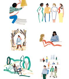 Fashion Illustration Design New Logo and Identity for One Medical by Moniker and In-house City Illustration, Digital Illustration, Illustration Styles, Plant Illustration, Illustrations Médicales, Medical Illustrations, Medical Posters, Minimal Web Design, Medical Design