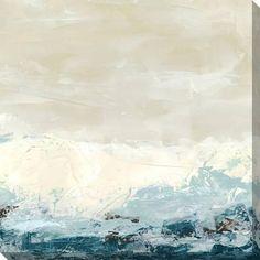 Coastal Currents II Stretched Canvas Print by Erica J. Vess at Art.com