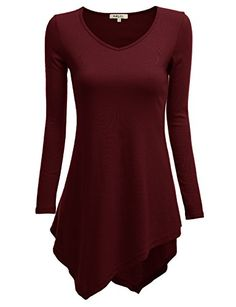 Doublju Women Day-to-Night Unbalanced Long Sleeve Big Size Top WINE,4XL Doublju http://smile.amazon.com/dp/B00JIJVEGS/ref=cm_sw_r_pi_dp_B8q7vb14M9Q1N