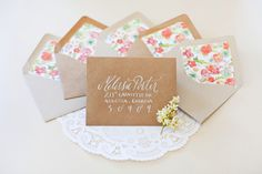 Oh So Beautiful Paper: Bailey's Creative Bridal Shower Invitations